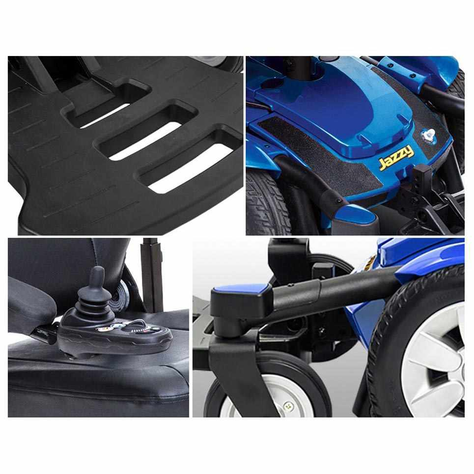 Pride Jazzy select 6 wheelchair