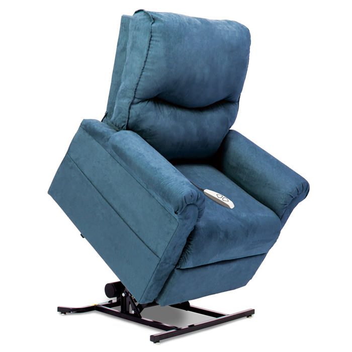 Pride LC-105 lift chair - Micro suede sky color
