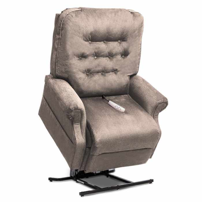 LC-358XL lift chair with Cloud 9 stone fabric