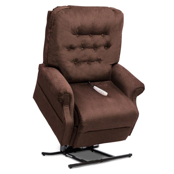 LC358XL full recline lift chair - Walnut color