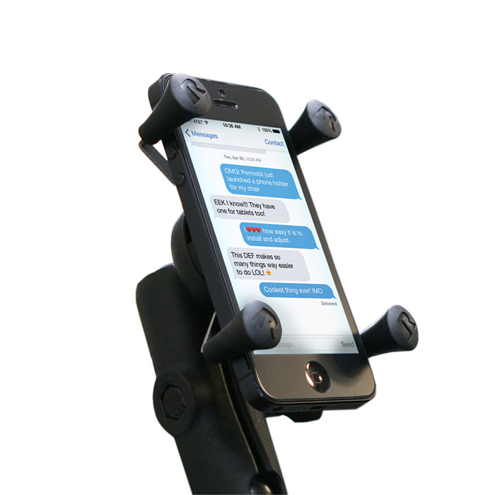 Permobil Ram X-Grip Phone Holder