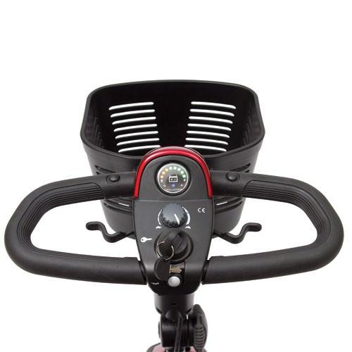 Pride Go-Go LX 4 wheel travel scooter