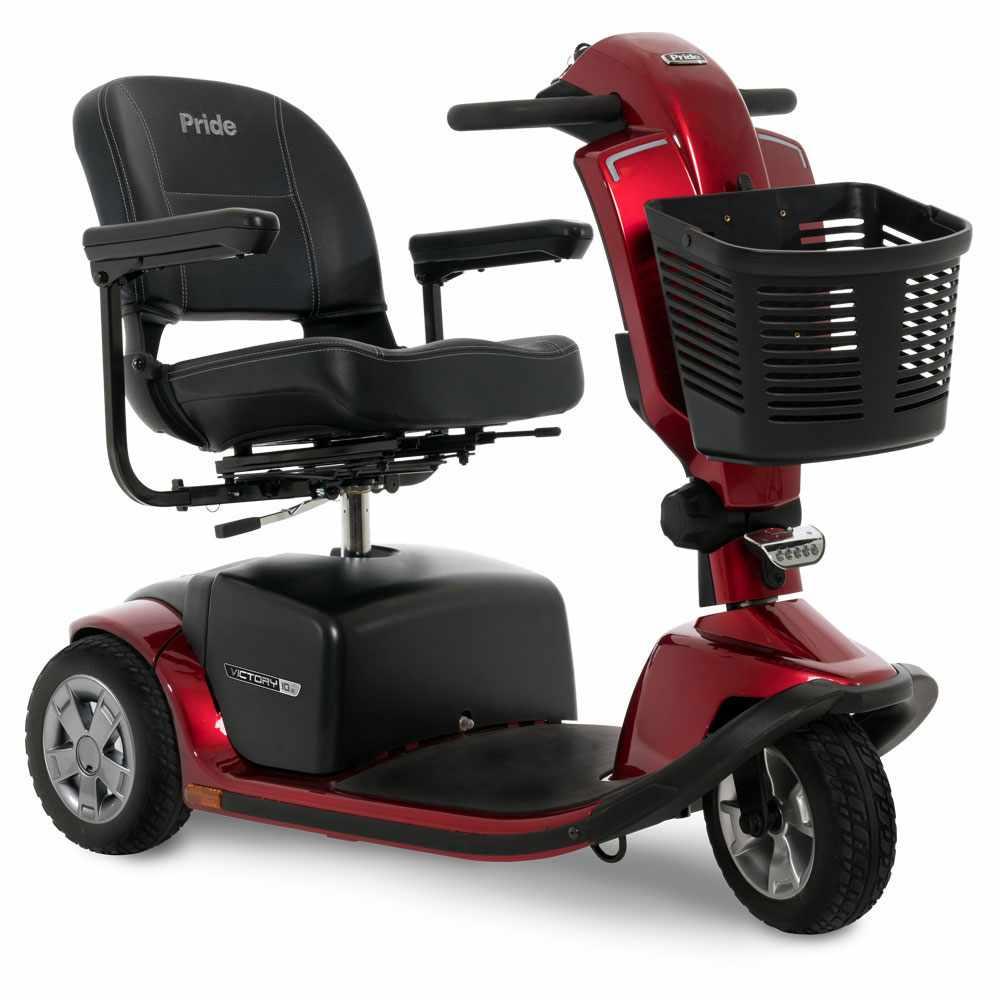 Pride Victory 10.2 3-wheel heavy duty scooter