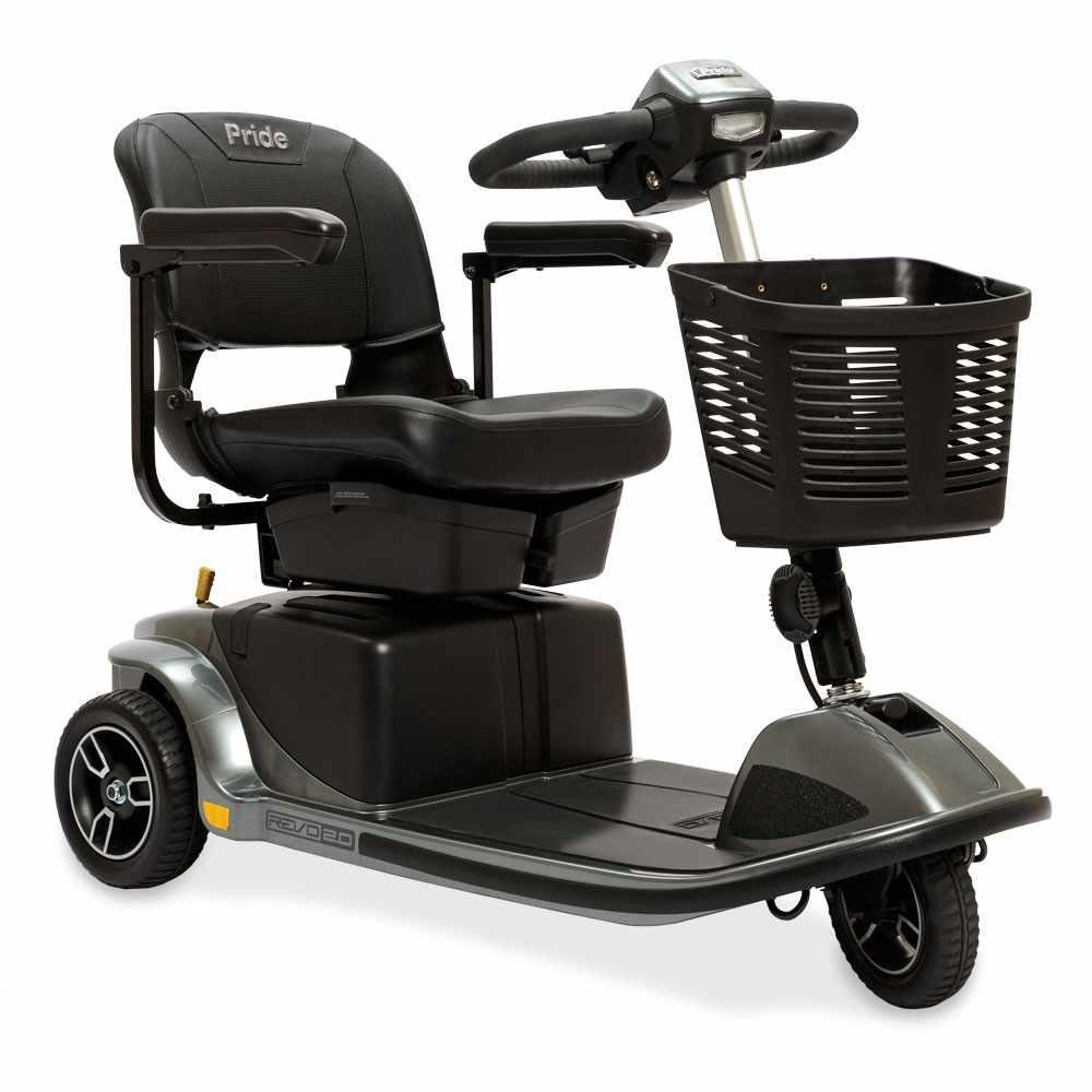 Pride Revo 2.0, 3-wheel mobility scooter
