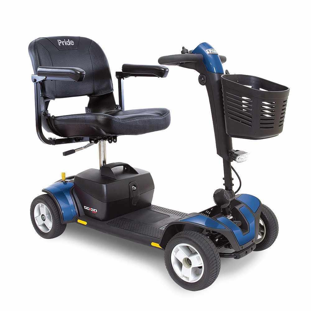 Pride Go-Go Sport 4-Wheel Mobility Scooter