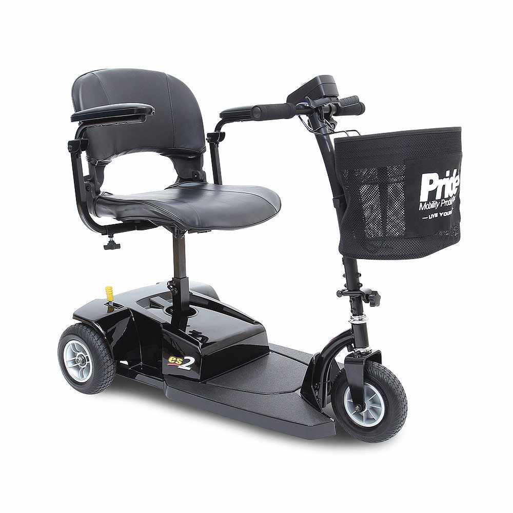 Pride Go-Go ES 2 3-Wheel Mobility Scooter