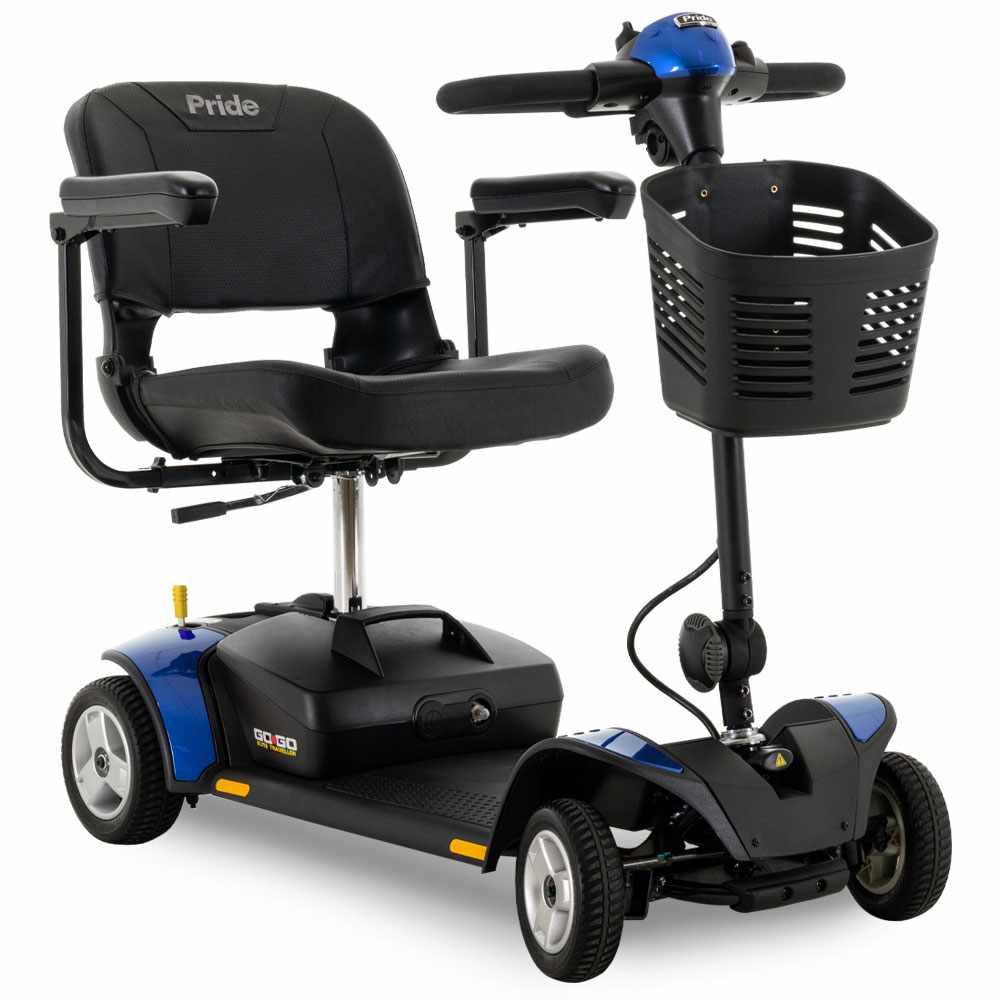 Pride Go-Go Elite Traveller 4-Wheel Mobility Scooter
