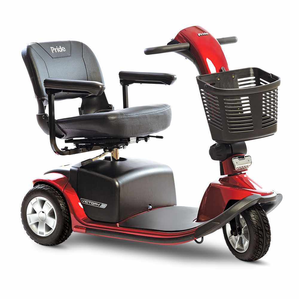 Pride Victory 10 3-wheel mobility scooter