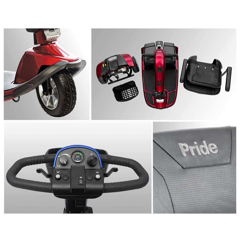 Pride Victory 10 3-wheel scooter