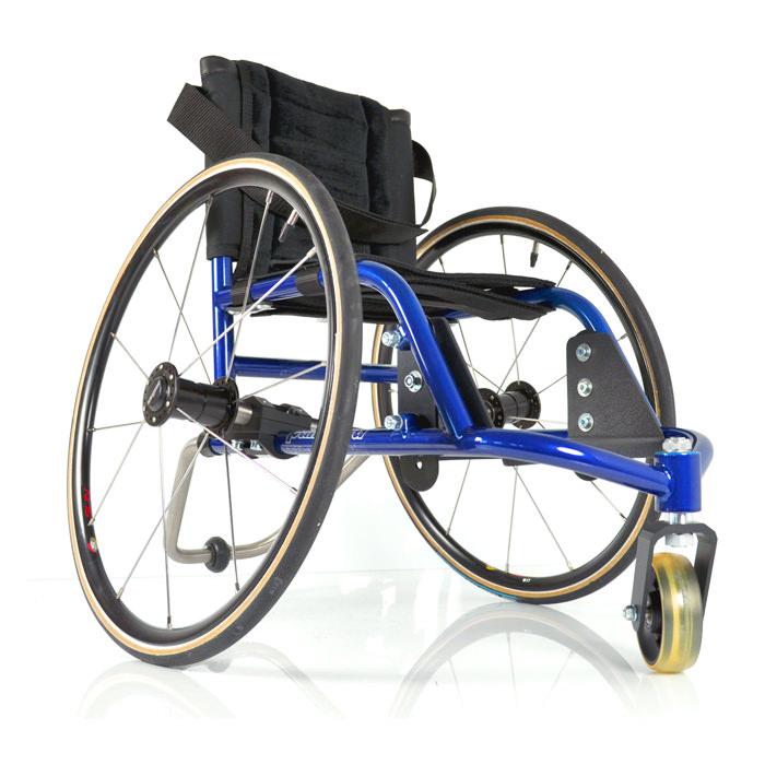 Micro pediatric ultra lightweight wheelchair