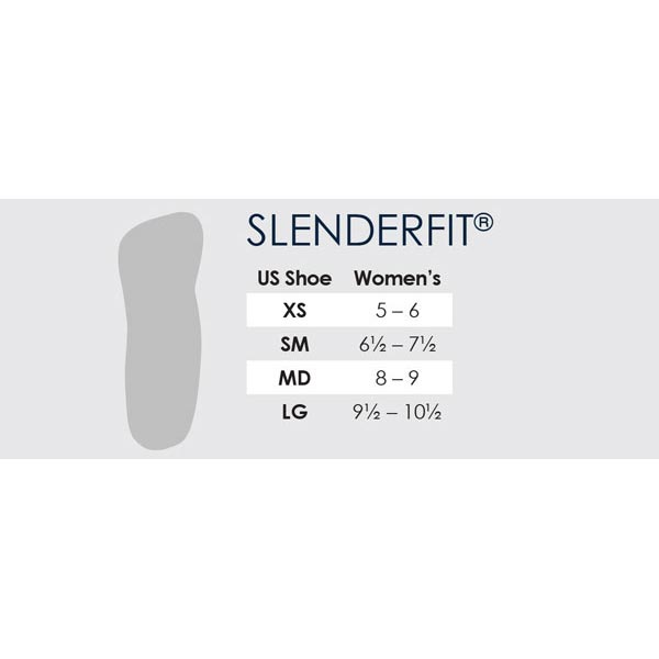 Powerstep SlenderFit Womens Fashion Orthotics Insoles for Heels