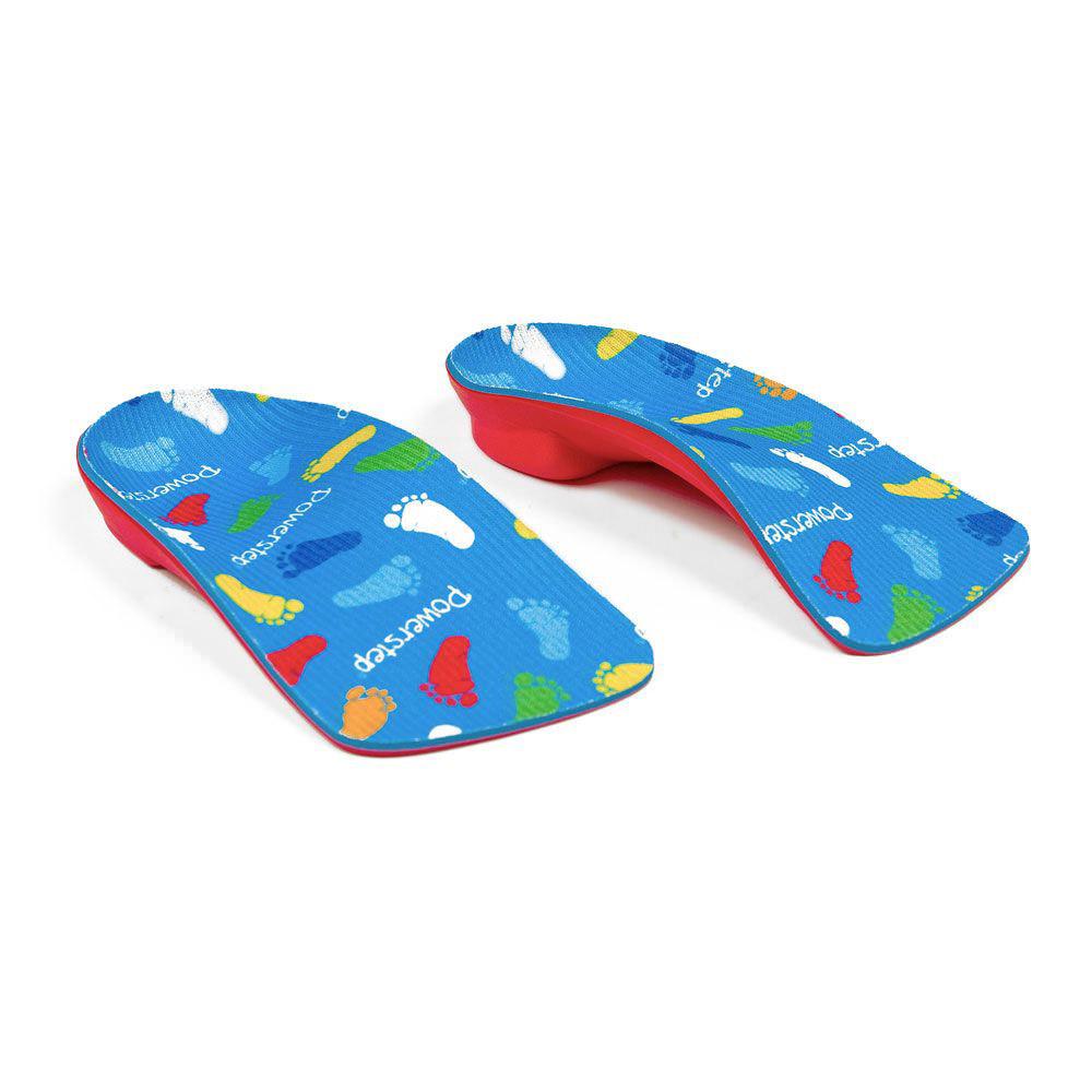 Powerstep PowerKids Pediatric 3/4 Length Orthotic Shoe Insoles