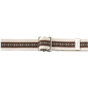 Posey Embroidered Ribbon Bariatric Gait Belt, X-long