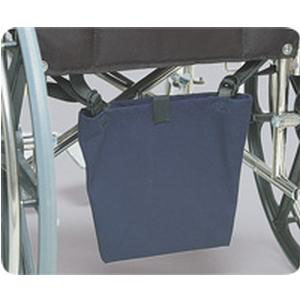 """Posey Urine Drainage Bag Holder/Cover 13-1/2"""" L x 10-1/2"""" W, Washable Canvas Holder w/Straps"""
