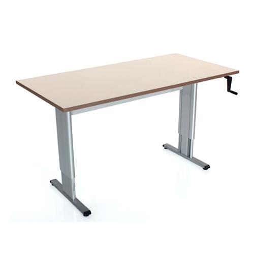 Accella adjustable activity/computer table