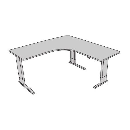 Infinity adjustable perfect corner desk