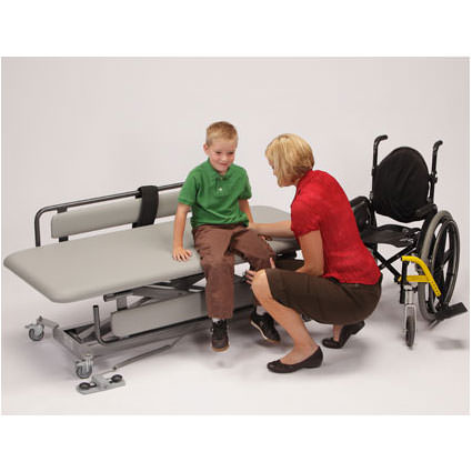 Infinity adjustable mobile therapy table