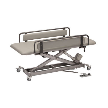 Infinity adjustable changer/therapy table
