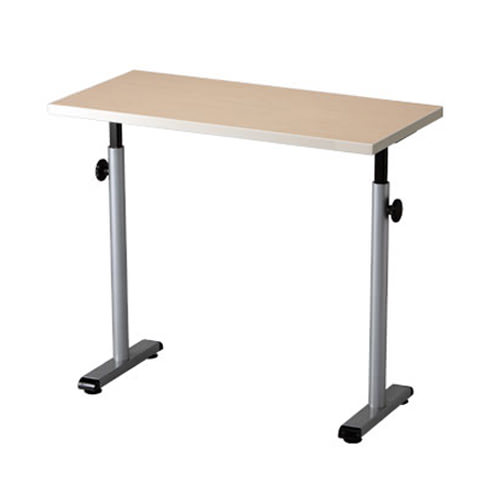 Knob adjusted adjustable hand therapy table
