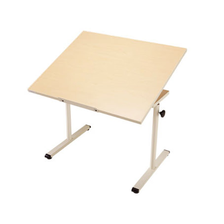 Knob adjusted adjustable worktable with tilt