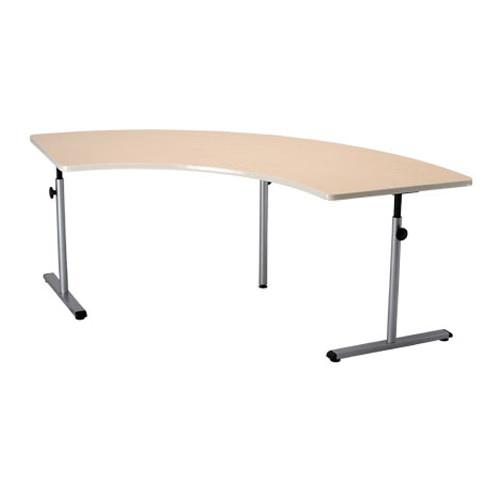 Knob adjusted adjustable therashape table