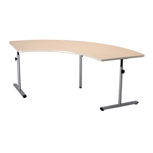 Knob adjusted adjustable therashape table