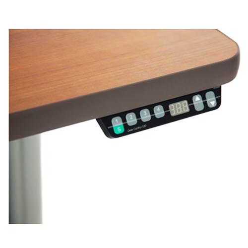 Vox adjustable perfect corner desk - Push button control