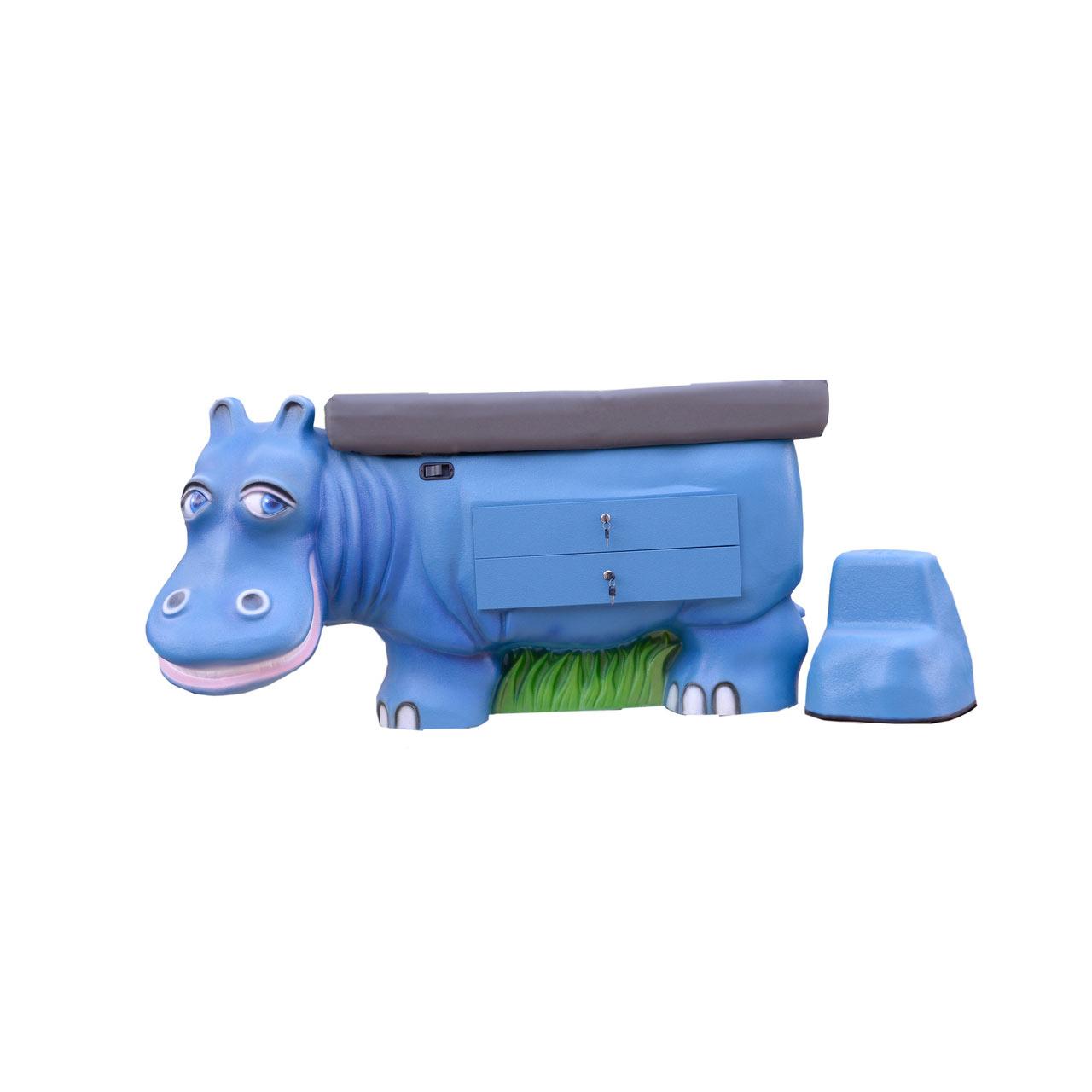 Pedia Pals 4200DT Zoopal Hippo pediatric exam table