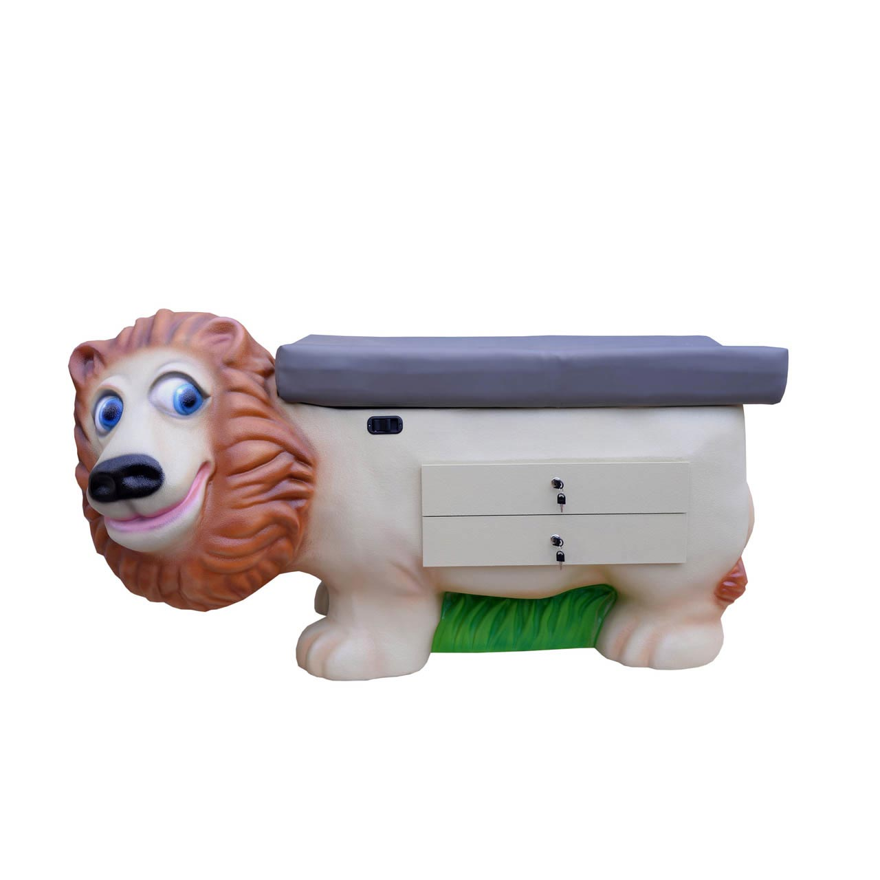 Pedia Pals 4500DT Zoopal Lion pediatric exam table