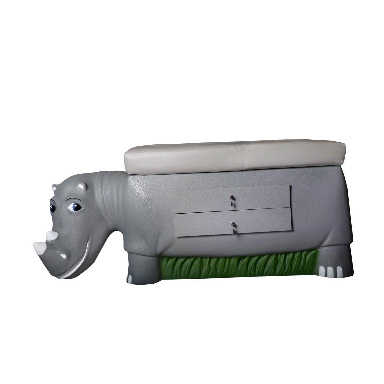 Pedia Pals 7200DT Zoopal Rhino pediatric exam table