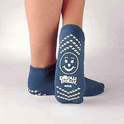 Principle Disposable Ankle High Terry Cloth Slipper Socks, 2X-Large