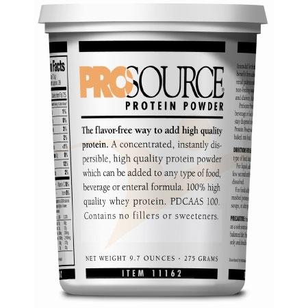 ProSource Unflavored Protein Supplement Powder Tub, 9.7 oz.