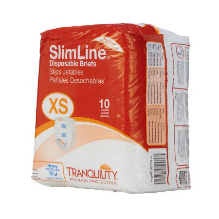 """Tranquility SlimLine Youth Disposable Brief, 18"""" to 26"""""""