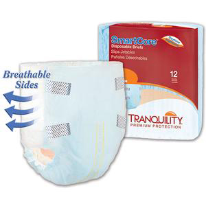 """Tranquility SmartCore Disposable Brief, 32"""""""