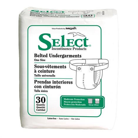Select Heavy Absorbency Belted Undergament