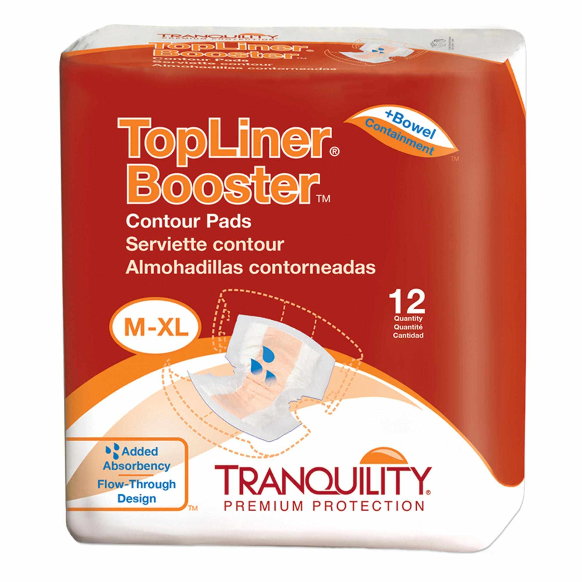 """Tranquility Topliner Booster Contour Pad 13.5"""" x 21.5"""""""