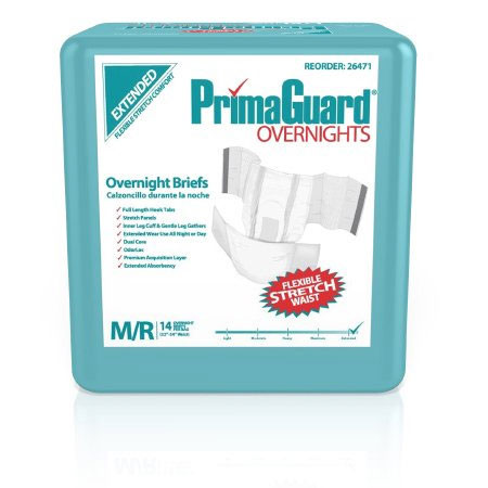 PrimaGuard Disposable Incontinence Brief