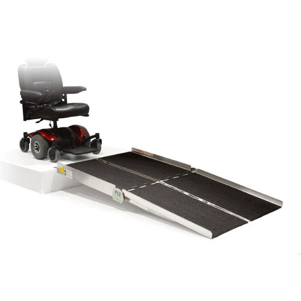 PVI Bariatric multifold ramp for wheelchairs