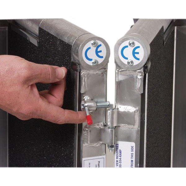 PVI Bariatric multifold ramp - QuickCam for separating ramp