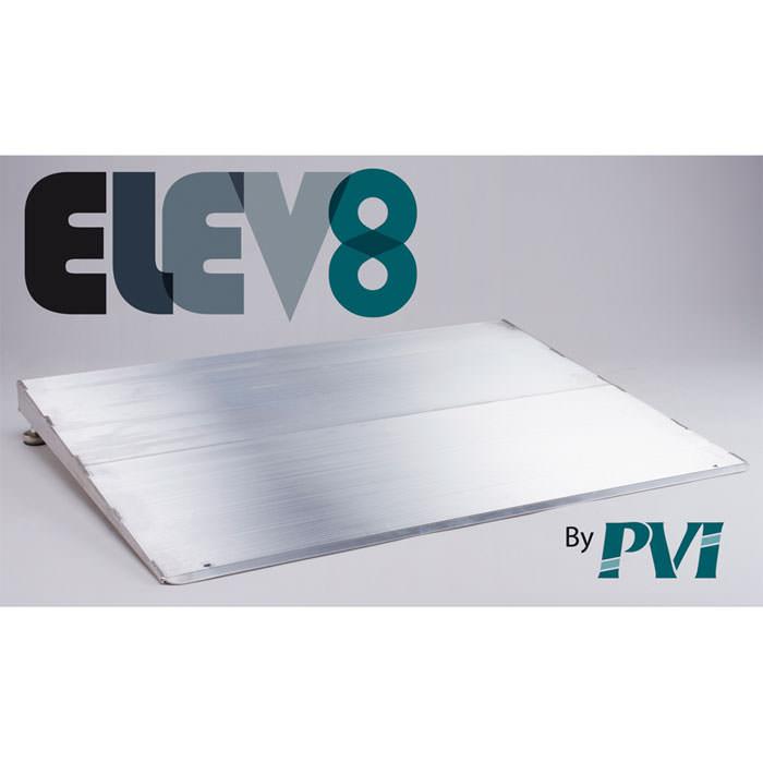 PVI Elev8 aluminum threshold ramp