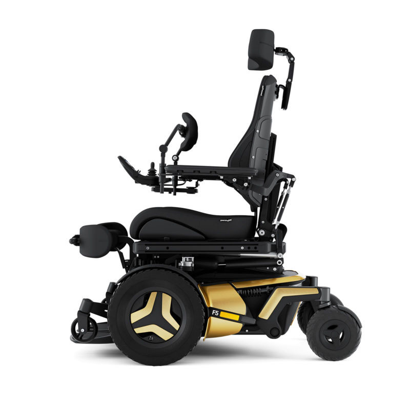 Permobil F5 Corpus VS Stand-Up Wheelchair