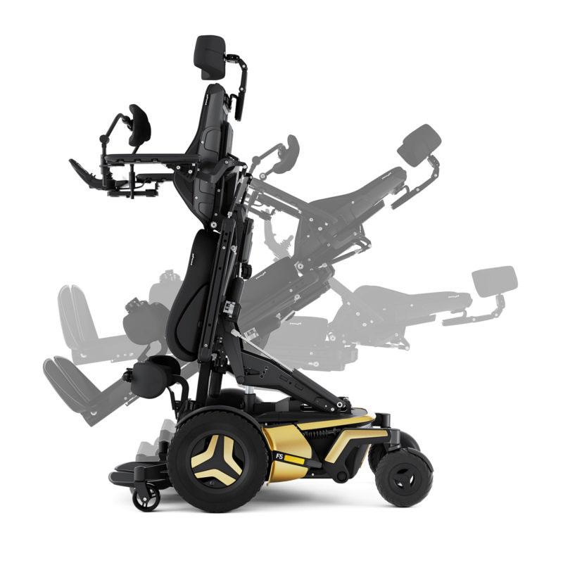 Permobil F5 Corpus VS Power Wheelchair