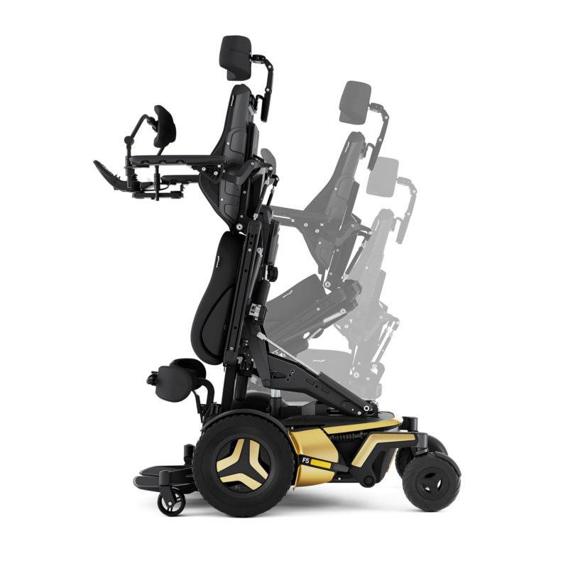 F5 Corpus VS Standing Power Wheelchair by Permobil