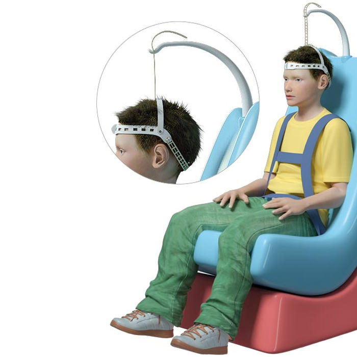 HeadPod Dynamic Head Support System