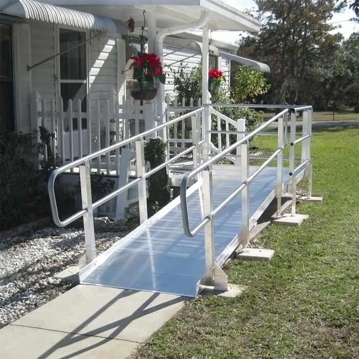 PVI modular XP ramp system