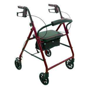 "ProBasics Economy Steel Patient Rollator with 6"" Wheels"