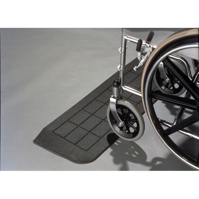 PVI Rubber threshold ramp for wheelchairs