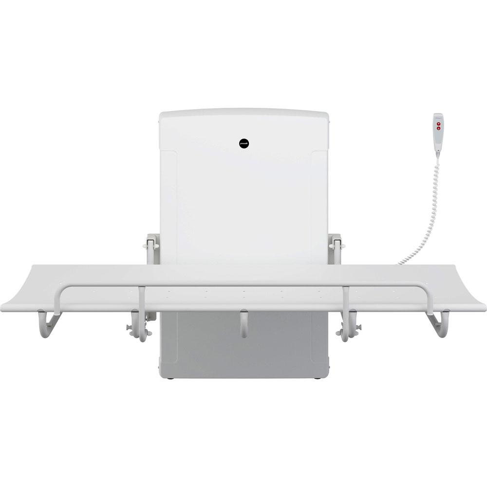 Pressalit 1000 height adjustable showering table