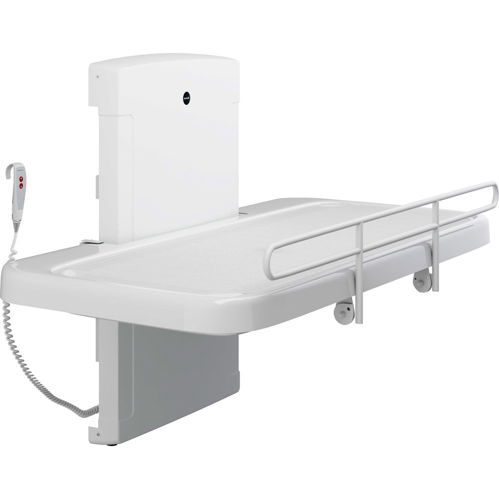Pressalit 2000 shower and changing table