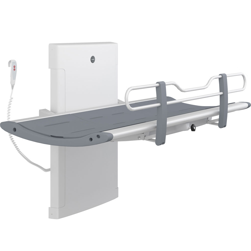 Pressalit 3000 height adjustable showering table